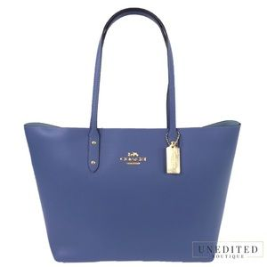 NWT - COACH Leather Town Tote